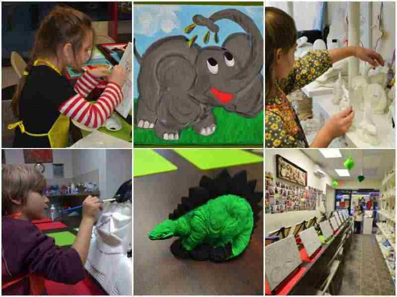 art classes and birthday parties